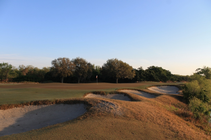 Greenside Bunkers Streamsong Red #12